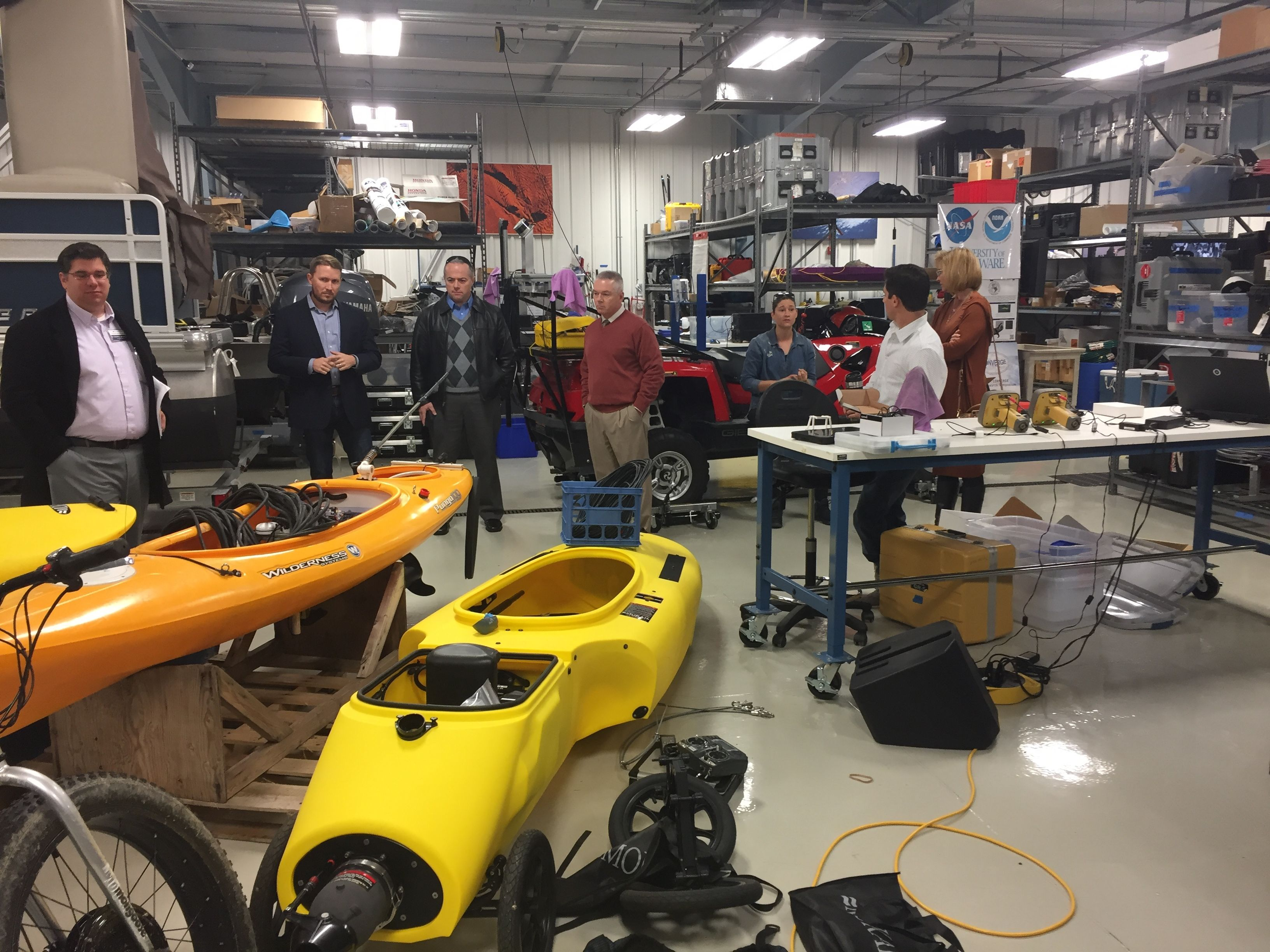 SCSA Tour: Robotic Discovery Labs 11/16/2017
