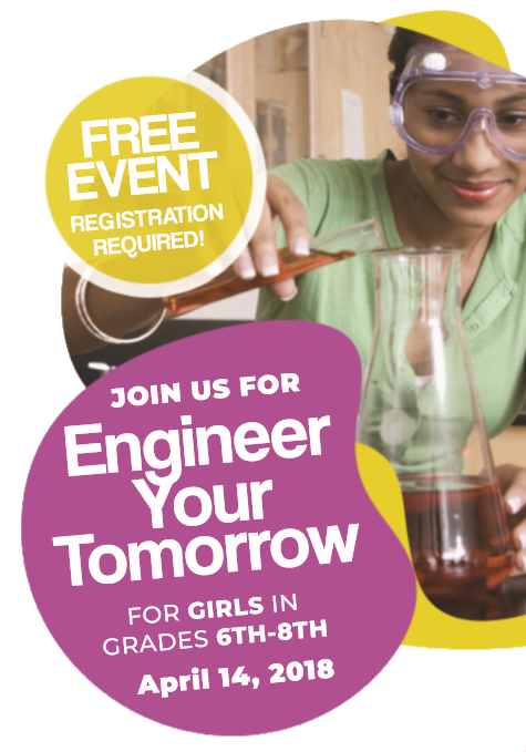 Girl's STEM Event: Engineer Your Tomorrow